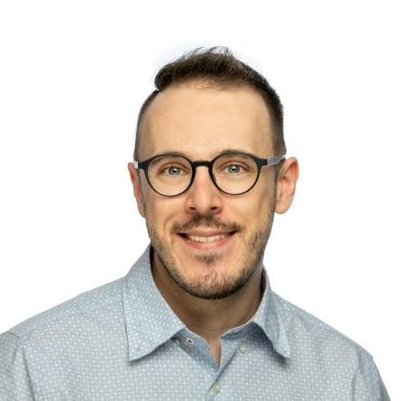 A photograph of Martin Porcheron